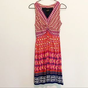 Laundry by Shelli Segal Colorful Dress